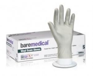 Bare Medical Gloves Vinyl Powder Free Medium