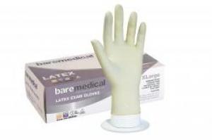 Bare Medical Gloves Latex Powder Free X-Large