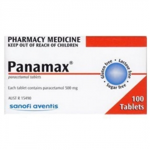 Panamax 500mg Tablets - Pack 100