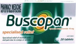 Buscopan 10mg Tablets  - Pack 20 - Click for more info