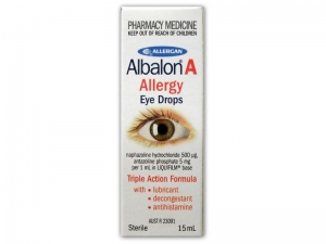 Albalon A Sterile Eye Drops - Click for more info