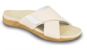 Orthaheel Lulu Sandal Beige - Click for more info