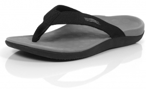 Orthaheel WAVE THONG- Black - Click for more info