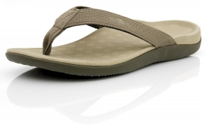 Orthaheel Wave Thong Khaki - Click for more info