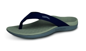 Orthaheel Wave Thong Navy - Click for more info