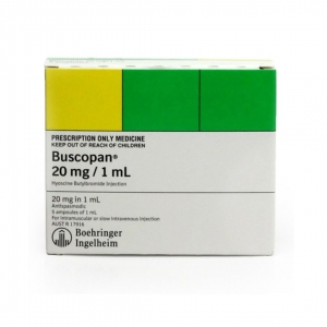 Buscopan Ampoules 20mg/1ml - Pack 5