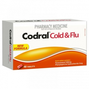 Codral Pe Cold & Flu Tablets Nc - Pack 48 - Click for more info