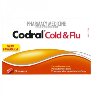 Codral Pe Cold & Flu Tablets Nc - Pack 24 - Click for more info