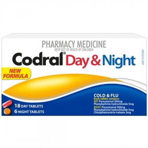 Codral PE Day & Night Tablets
