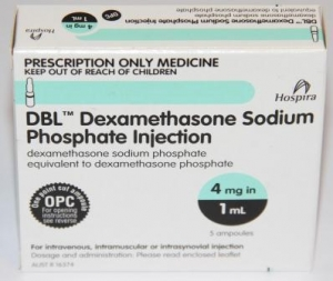 Dexamethasone Injection 4mg/1ml - Box 5 - Click for more info