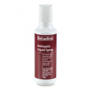 BETADINE ANTISEPTIC SPRAY 75ml - Click for more info