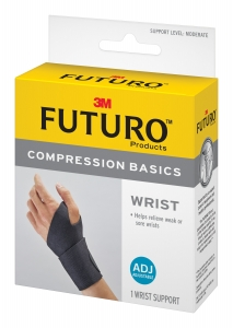 Futuro Compression Basics Adjustable Wrist Brace
