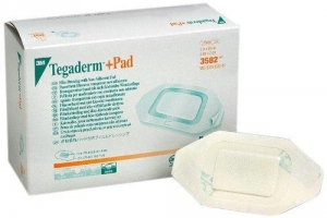 Tegaderm with Pad 5x7cm - Box 50 - Click for more info