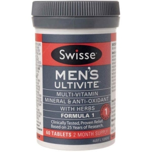 Swisse Men Ultivite F1 - Pack 60 - Click for more info