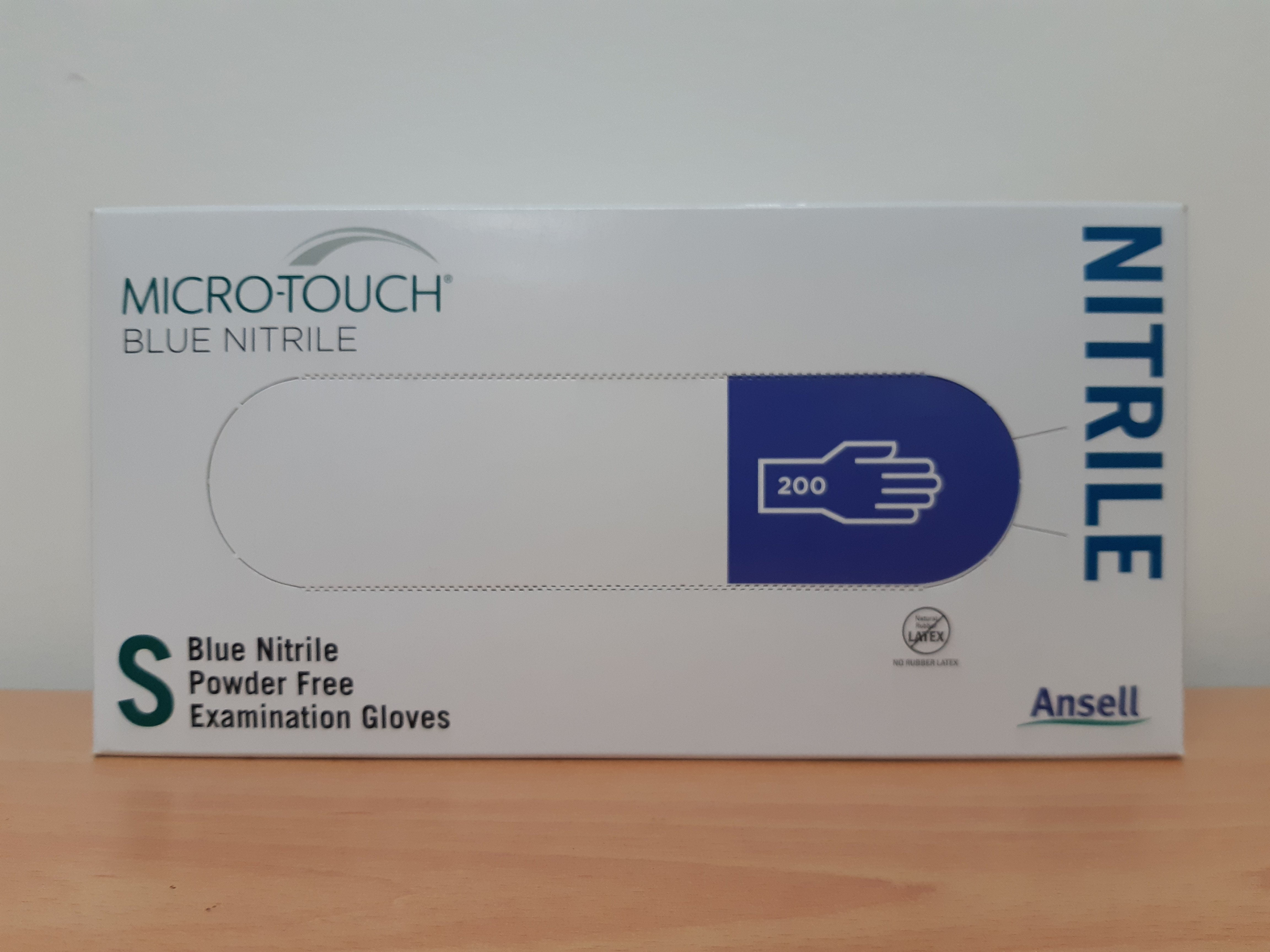 Ansell Micro-Touch Powder Free Nitrile Gloves - Box 200