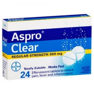 Aspro Clear TABLETS - Click for more info