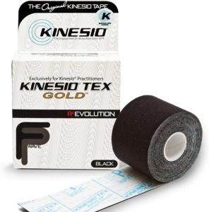 Kinesio Tex Gold Black 5cm x 5m - Click for more info