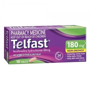 Telfast Tablets 180mg - Pack 10
