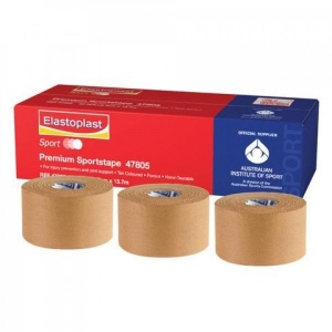ELASTOPLAST PREMIUM SPORT TAPE - RIGID 50mm (47805_Each Roll)