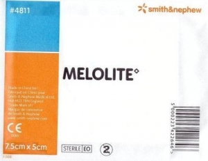 Melolite Dressing 7.5cm x 5cm - Click for more info