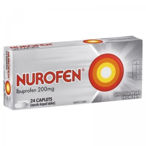 Nurofen Caplets 200mg - Pack 24 - Click for more info