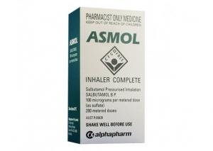 Asmol Aerosol 100mcg - Click for more info