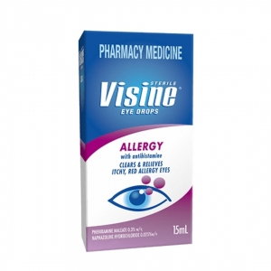Visine Allergy Antihistamine Eye Drops 15ml - Click for more info