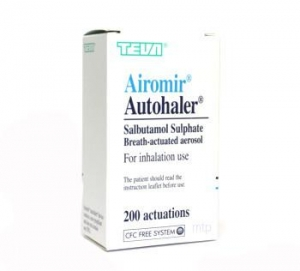 Airomir Autohaler 100mcg - 200 Doses - Click for more info