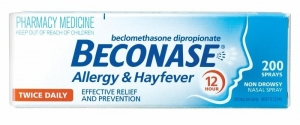 BECONASE ALLERGY & HAYFEVER SPRAY 12hr - Click for more info