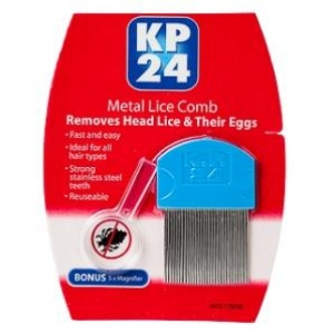 KP24 Metal Tooth Head Lice Comb - Click for more info
