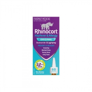 Rhinocort Aqua Spray 32mcg - 60 Doses - Click for more info