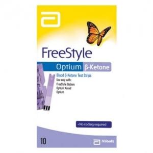 Freestyle Optium B-Ketone Test Strips - Pack 10