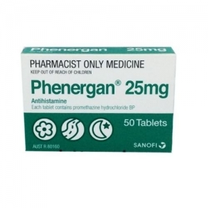 Phenergan 25mg Tablets - Pack 50