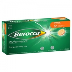 Berocca Performance Orange Tablets - Pack 30 - Click for more info