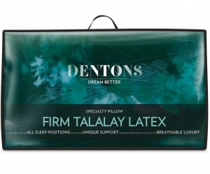 Dentons Talalay Firm Latex Pillow - Click for more info