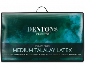 DENTONS TALALAY MEDIUM LATEX PILLOW - Click for more info