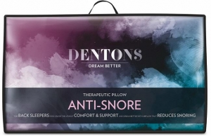 DENTONS ANTI-SNORE THERAPEUTIC PILLOW - Click for more info