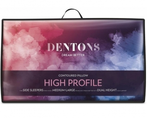 Dentons High Profile Contoured Pillow - Click for more info