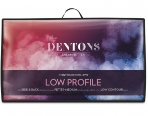 Dentons Low Profile Countoured Pillow - Click for more info