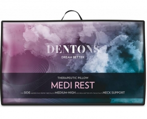 Dentons Medi Rest Therapeutic Pillow - Click for more info
