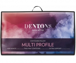 Dentons Multi Profile Contoured Pillow - Click for more info
