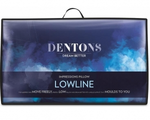 DENTONS IMPRESSIONS LOWLINE MEMORY FOAM PILLOW - Click for more info