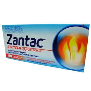 Zantac Extra Strength 300mg Tablets - Pack 14