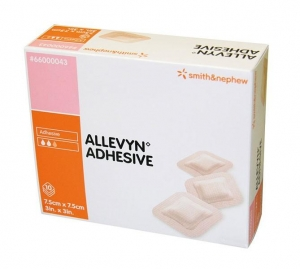 Allevyn Adhesive Dressing 7.5cm x 7.5cm - Click for more info