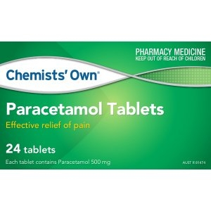 Chemists' Own Paracetamol Tablets - Pack 24 - Click for more info