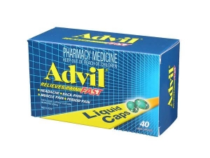 Advil Liquid Capsules - Pack 40 - Click for more info