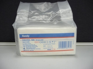 Handy STERILE GAUZE SWABS - Click for more info
