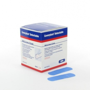 COVERPLAST DETECT BANDAID 7.5X2.2CM BX100 - Click for more info