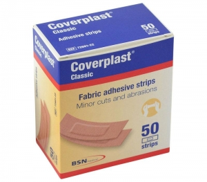 Coverplast Fabric Strips Pack 50