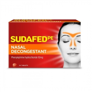 Sudafed Pe Nasal Decongestant - Pack 24 - Click for more info